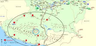 Rosarito Mexico Map by Borderland Beat El Chayo Killed Again