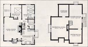 garden home house plans better homes and gardens house plans 1937 bildcost no 602 basement