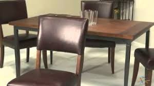 hillsdale cameron dining table cheap rectangle glass dining table set find rectangle glass dining