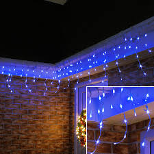 Curtain Fairy Lights by Icicle Light 5m 16 4ftx0 6m 2ft 150led 8 Modes With Memory