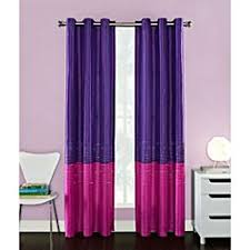 Pink And Purple Curtains Sweet Jojo Designs Pink Green And White 84 Inch Window Treatment