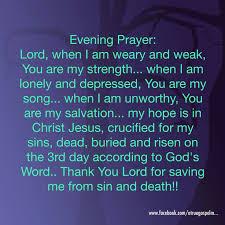 228 best evening prayers images on evening prayer