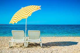 Beach Umbrella And Chairs Beach Umbrella Pictures Images And Stock Photos Istock