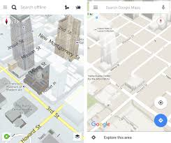 San Francisco Google Map by Comparing Google Maps And Here Maps Offline