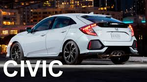 2017 honda civic hatchback interior exterior and drive great