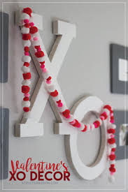 Valentine Home Decor Xo Valentine Diy Home Decor
