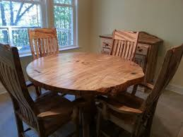 custom made round ambrosia maple dining table things of beauty