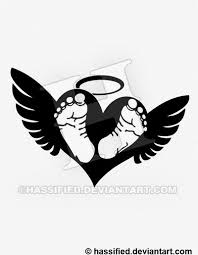baby footprints on with wings by hassified on deviantart