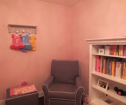 Princess Bookcase A Pink And Gray Nursery Fit For A Princess Project Nursery