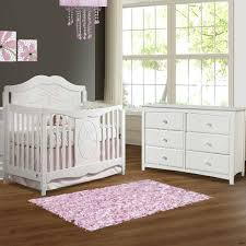 convertible crib bedroom sets beautiful white nursery furniture with stunning wall paint