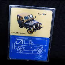jeep cj golden eagle 1977 1978 1979 jeep cj golden eagle dual promotional decks factory