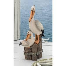 design toscano s perch pelican statue reviews wayfair