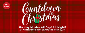countdown to christmas 2017 holiday movies sweepstakes