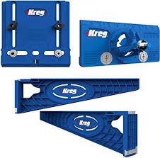 kreg cabinet hardware jig amazon com kreg tool company drawer slide jig with cabinet