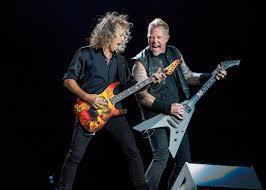 Kirk Hammett Music Metallica James Hetfield Amp Kirk Hammett Light Giants