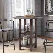 Drop Leaf Bistro Table Laurel Foundry Modern Farmhouse Avon Wire Brush Drop Leaf Pub