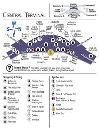 Seattle Tacoma Airport Map Sea Tac Airport Maplets