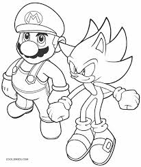 Printable Sonic Coloring Pages For Kids Cool2bkids Free Sonic Coloring Pages