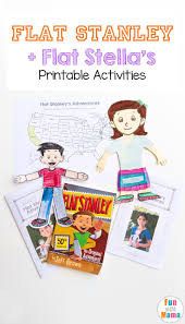 Map Letters Flat Stella Flat Stanley Printable Activities