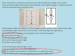When The Lights Go On Thrown Closed The Current In The Circuit Is Ppt Download