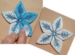 so pretty clay ornaments you can make cloth paper scissors