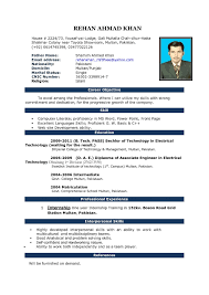 Sample Resume For Preschool Teacher Resume Templates Word Download Template Examples