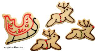 Cookie Decorating Kits Artgirl Cookie Decorating Sets For Beautiful Holiday Cookies