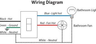bathroom fan wiring diagram on bathroom images free download