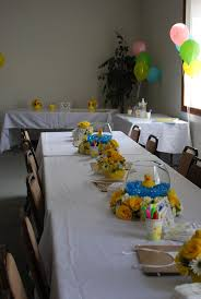 Baby Shower Table Setup by 744 Best Baby Shower Ducks Images On Pinterest Baby Shower