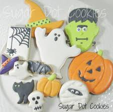 sugar dot cookies halloween cookie decorating class