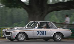 mercedes vintage vintage mercedes 230sl racecar