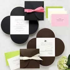 Wedding Invitations Miami Petal Wrap Wedding Invitation Petal Envelopes And Invitations