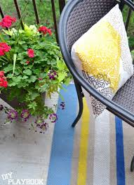 Make Your Own Outdoor Rug 154 Best Patios Images On Pinterest Budgeting Patio Makeover