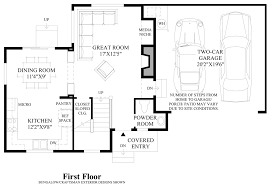 Micro Floor Plans by Timber Creek The Courtyards The Liberty Home Design