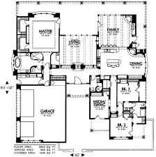 adobe southwestern style house plan 3 beds 3 00 baths 3660 sq