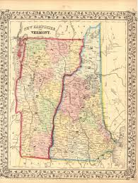 Vt Map Early Vermont Maps