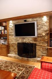 brick fireplace and hearth home design ideas