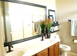 Wood Mirrors Bathroom Lush Wooden Bathroom Mirror Ideas Rustic Bathroom Mirrors