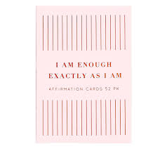 kikki quote cards weekly affirmation cards 52pk energise