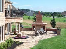 outdoor brick fireplace dact us