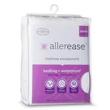 allerease bed bug mattress protector target