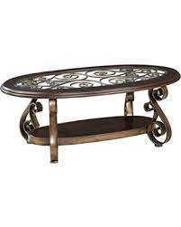 glass top cocktail table find the best deals on standard furniture bombay oval glass top