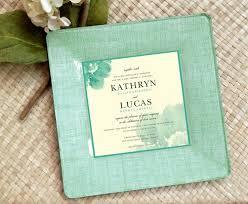 wedding invitation plate keepsake unique wedding gift for couples wedding invitation plate