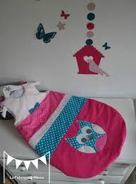 chambre hibou décoration chambre bébé et linge de lit hibou chouette étoiles bleu