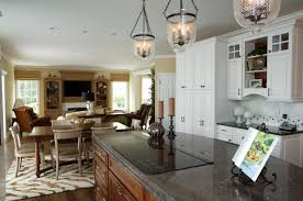 interior design for kitchen and dining open kitchen to dining room houzz