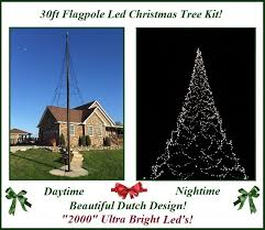 14 flagpole tree kit white mac me collection