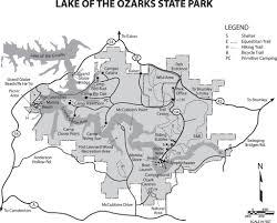 ozarks map lake of the ozarks state park maplets