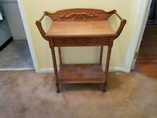 antique oak night stand ebay