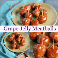 grape jelly meatballs savory experiments