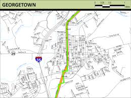 Georgetown Map Meridian Highway Maps Thc Texas Gov Texas Historical Commission
